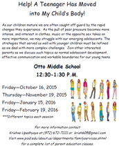 Otto Events Available to Parents