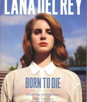 Lana Del Rey Digipak Magazine Advert