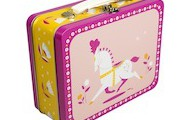 Circus Horse Tin Suitcase
