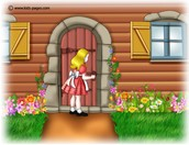 Goldilocks seeing if anyone is at home