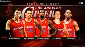 The Clippers Starting Lineup
