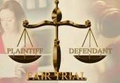 Fair trial in civil court