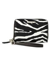 Chelsea Tech Wallet - Zebra