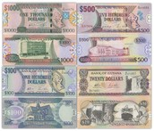 How does the money look in Guyana.
