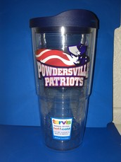 PTSO Offers Exclusive 24 oz. Powdersville Patriot Tervis Tumblers