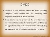 Disruptive mood dysregulation disorder