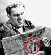 Hitchcock in a cameo