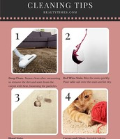 How To Remove 4 Common Carpet Stains The Eco-Friendly Way