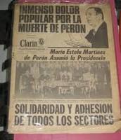 1 de julio Aniversario Muerte de Perón