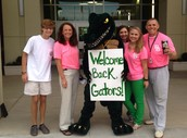 Student Council Welcomes Gators Back!