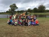 Kindergarten Field Trip to the Pumpkin Patch