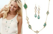 Pippa Necklace- Green