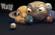 A picture of the planets