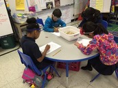 Ms. Johnson's 2nd Grade Reading class integrated with Science