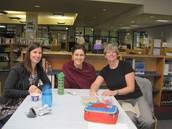 Mrs. Bonakdar, Mrs. Kucaj and Ms Kierstead