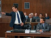 Attorney in a court room