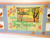 I'm thankful for Mrs. McFadden who does these great bulletin boards each month for us!