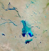 Lake Eyre - Filling