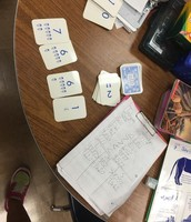 Panthers Use Number Cards To Create Large Numbers & Compare. Hands-on math practice.