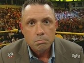 micheal cole if he does not retire he will also be an anouncer buddy