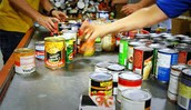 A business could promote the Food Bank.