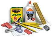 Class supplies:
