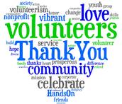 Reminder:  Volunteer Appreciation at 1pm