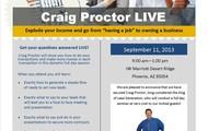 Craig Proctor LIVE