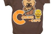 Chewie And C-3PO Baby Outfit