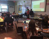 Students teaching Students in 6th
