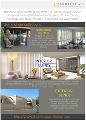 Shutters and blinds that fascinate you