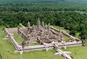 Angkor Wat Arial View