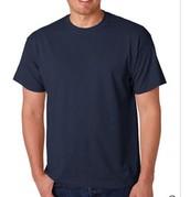50/50 Navy Shirt Sleeve T-Shirt
