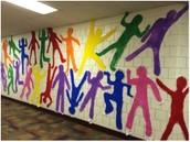 Group Keith Haring