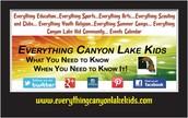 Everything Canyon Lake Kids