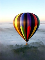 #3- Ride in a Hot air balloon