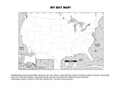 Blank Map to Create your Bat Map