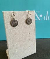 SOLD Silver Filigree Circle Drops $20