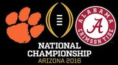 A trip to the National Championship, A once in a lifetime trip