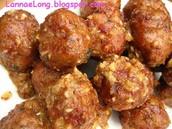 Bohimian meatballs
