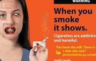 when you smoke it shows