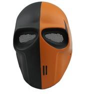 Black and orange masks just for the best fans