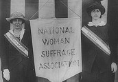 We Are Woman Suffrage Association!
