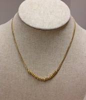 Piper necklace - gold $15