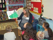 A special thanks to our guest reader Mrs. Colwell