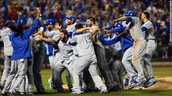 Kansas City Royals winning World Series