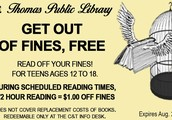 Get Out of Fines FREE - For Teens