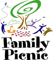 Family Picnic on the Lawn