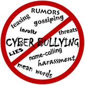 Don't be cyber bullied