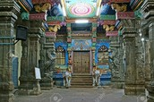 Inside Temple Meenakshi